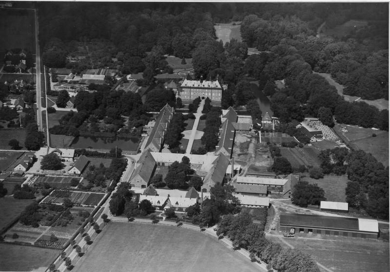 Luftfoto af Vemmetofte