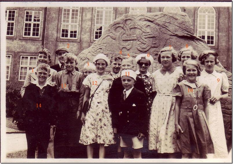 Skolebillede fra Vemmetofte 1938 kopi