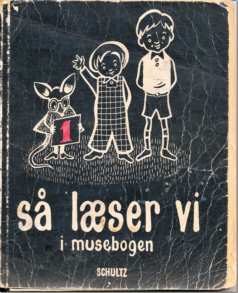 Vemmetofte skole læse- og skrivebog 1950